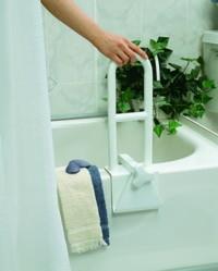 bath rail