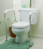 How To Fit Toilet Safety Rails
