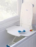 Superb A Bath Lift Chair Is Used To Get The Elderly Person Down To The Bottom Of  The Tub And Give Them A Relaxing Soak In Hot Water.
